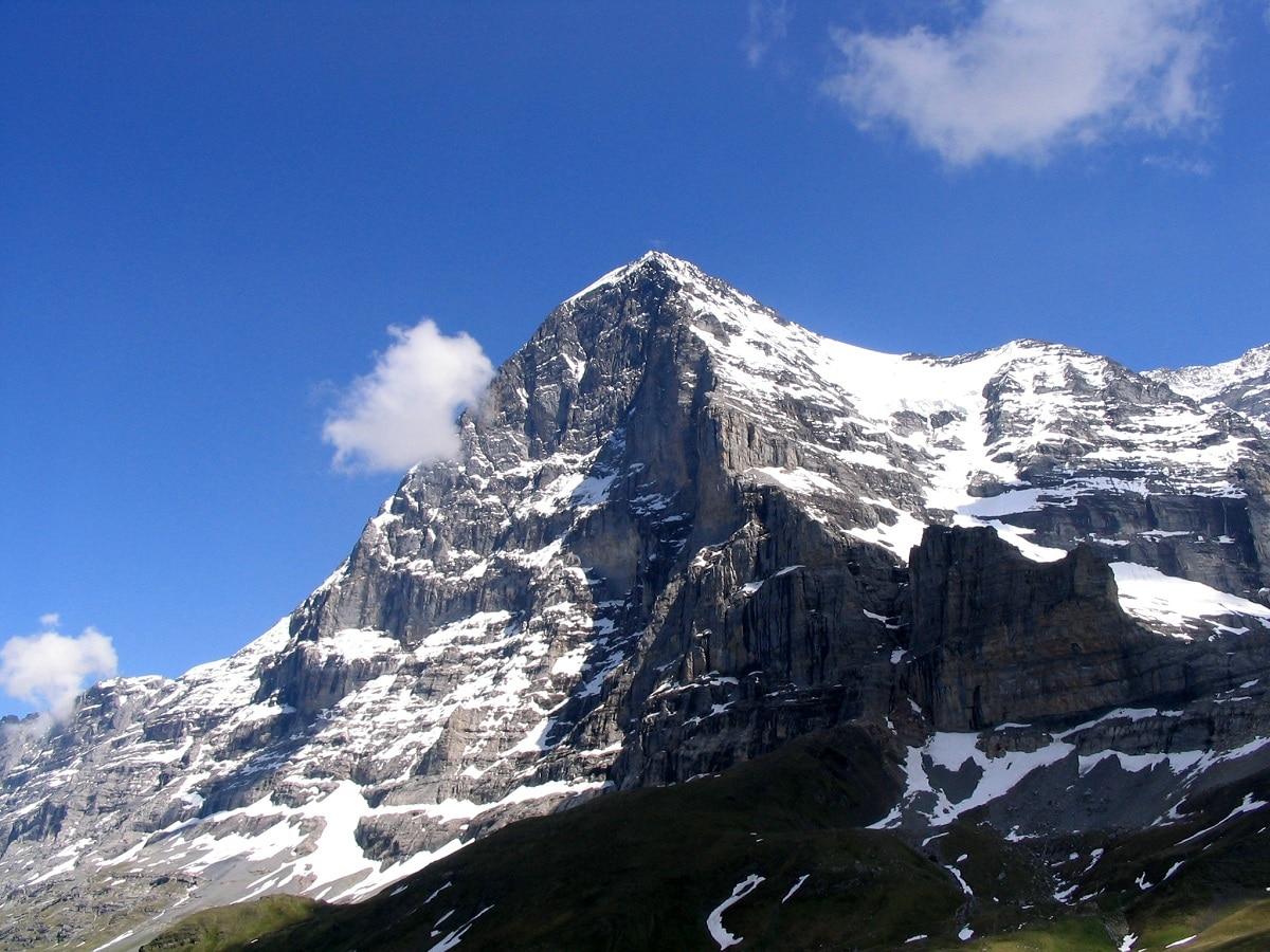 alpes suizos nevados