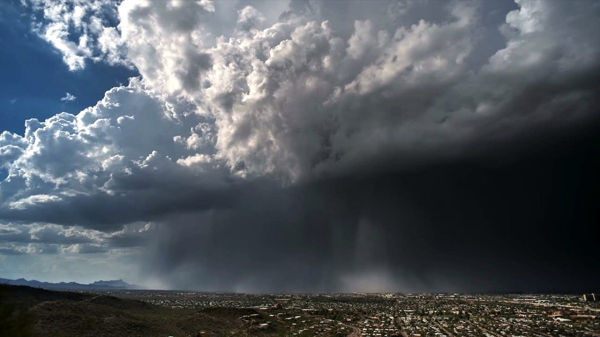 bomba de lluvia