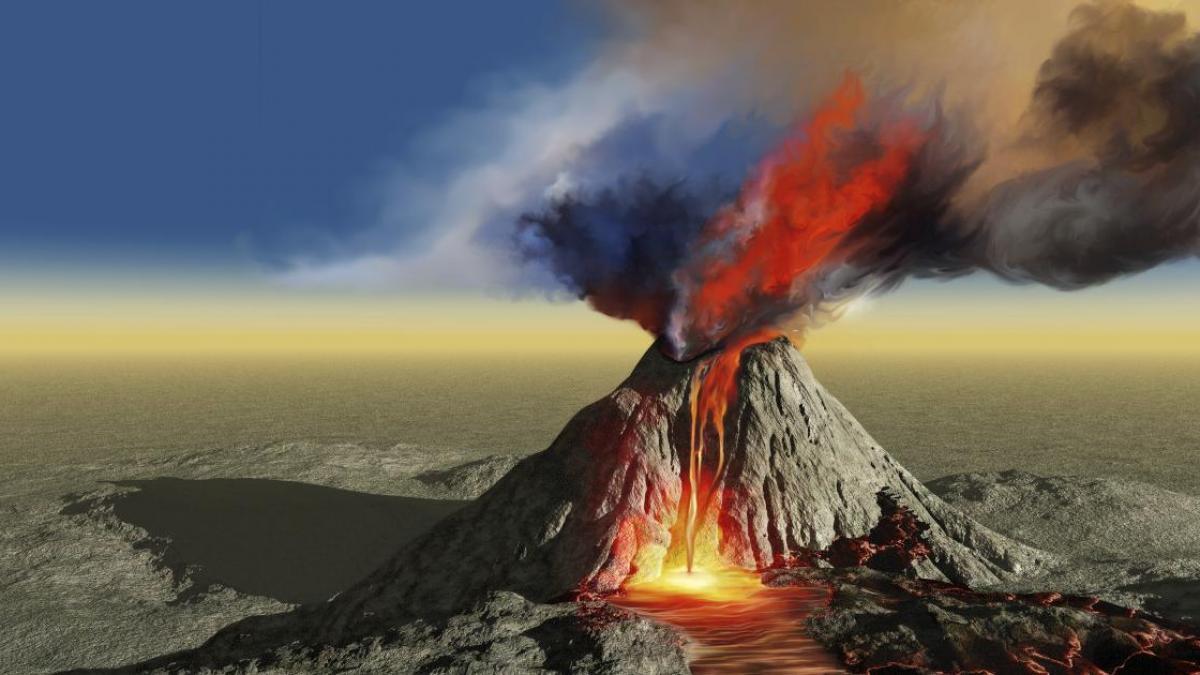 como se forman los volcanes desde el inicio