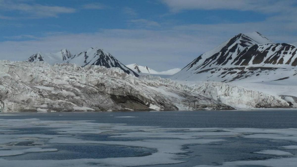 glaciares del oceano glacial artico