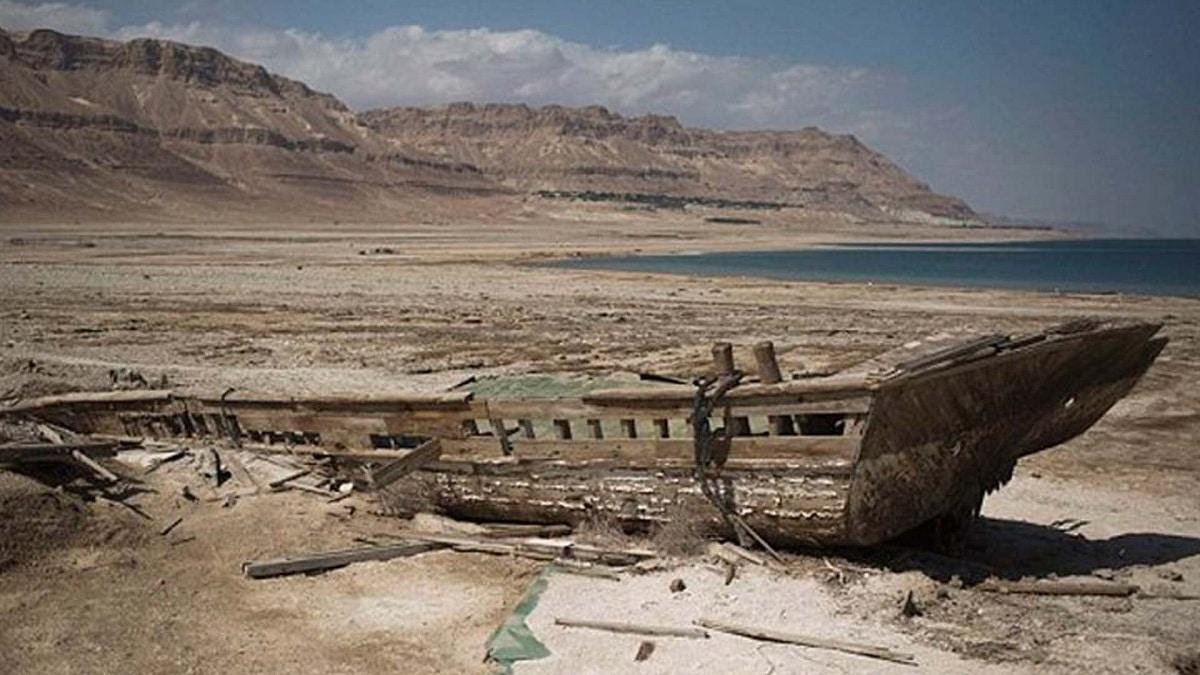 mar de galilea se seca