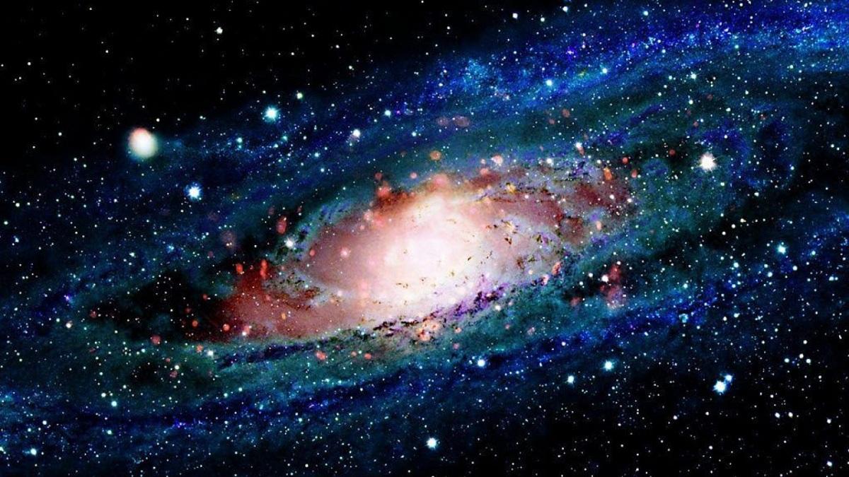cumulo de estrellas y galaxias
