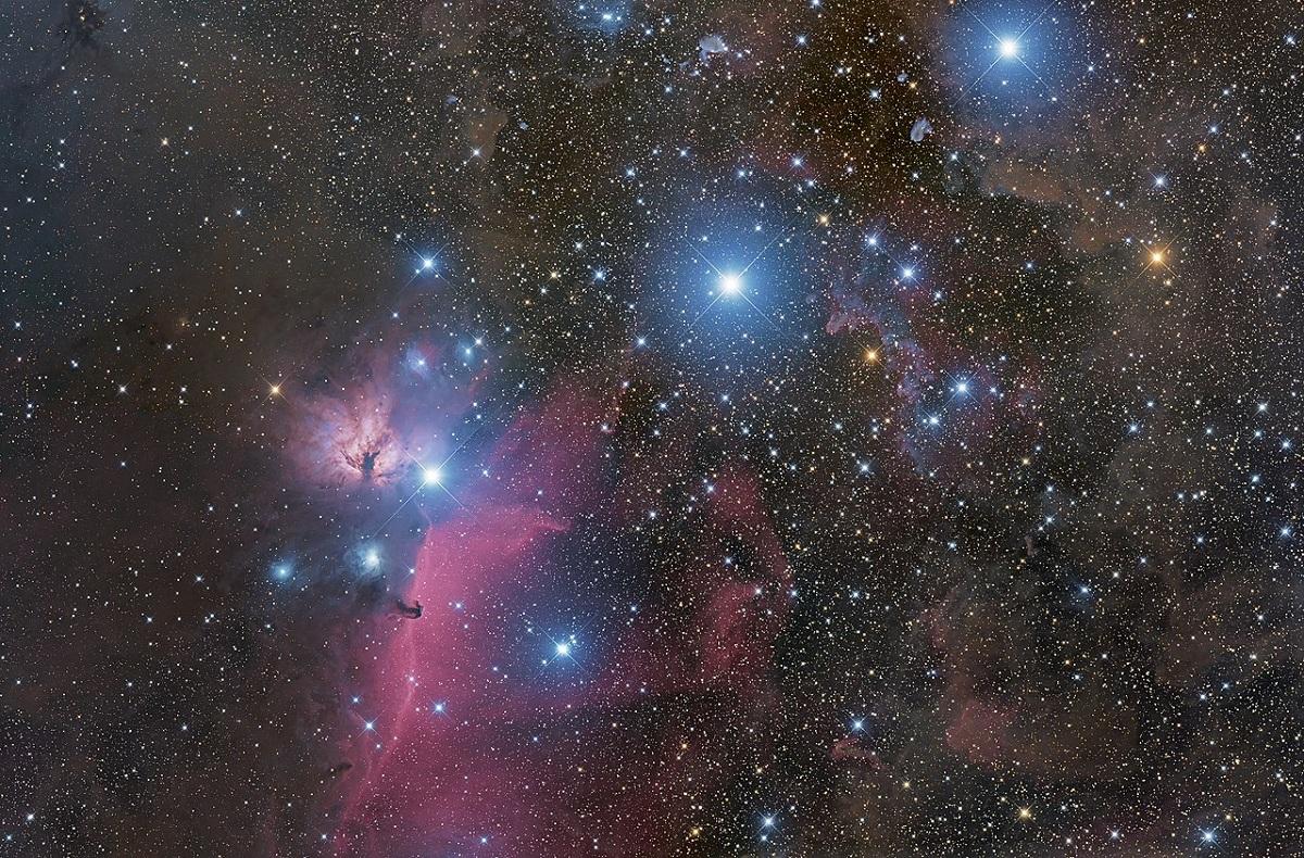 estrellas del cinturon de orion